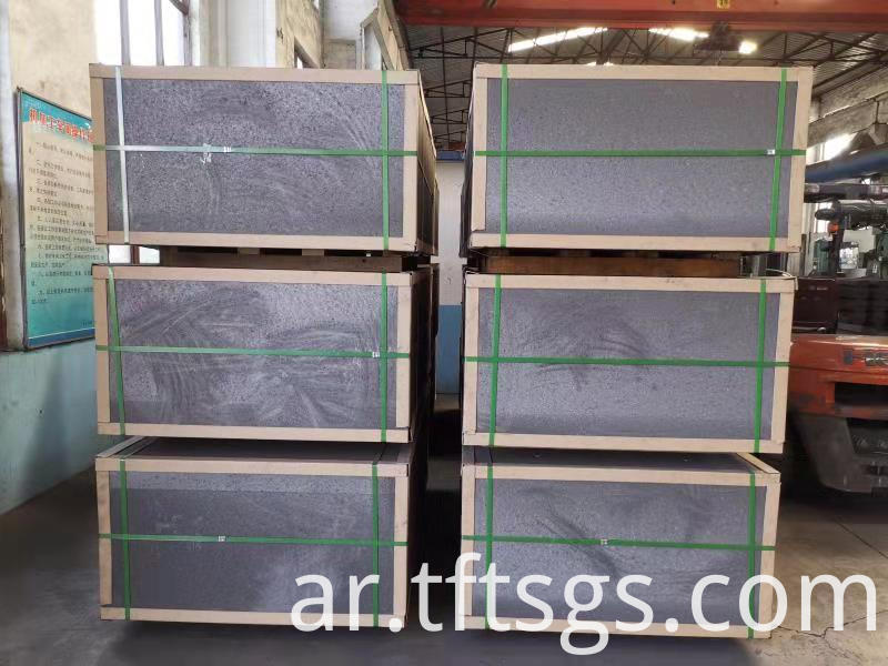 carbon anode block for copper smelting