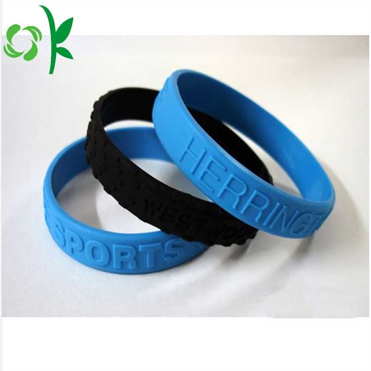 Embossed Silicone Bracelet 14