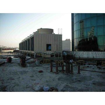 Refrigeration Equipment FRP Material Cross Flow Rectangular Cooling Tower Jn-6400UL/M