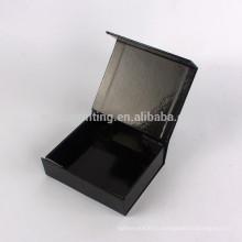 Пользовательские высокое качество магнитным замком упаковывая с горячим штемпелюя логосом