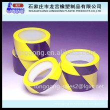 Cinta de advertencia de PVC / cinta de suelo