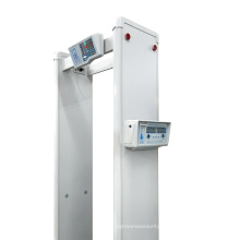 Temperature Walk Through Metal Detector Gate Human Body Detector Temperature Sensor Measurement