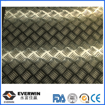 1050 H24 Diamond Aluminum Tread Coill