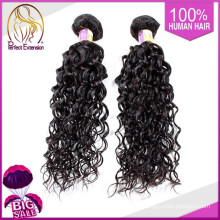 Russian Black Colored Curly Extensions Afro Hair Ponytail