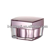 5g 15g 30g 50g 100g Square cosmetic cream acrylic jar