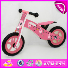 2014 New Wooden Bicycle Toy for Kids, Popular Wooden Bike Toy for Children, New Style Wooden Toy Bicycle for Baby Factory W16c079