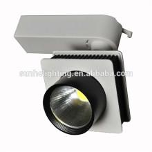 High lumen led track light clothing store led track light housing dimmable led track lighting