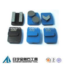 Redi-Lock System Segment Diamant Schleifen Metall Pad