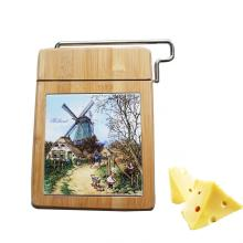 Food safe Bamboo cheese cutting board