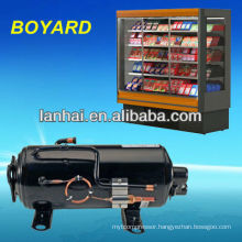 R404a horizontal rotativo compressor for refrigerated van and truck