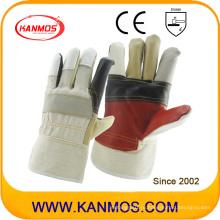 Радуга Цвет Мебель Кожа Промышленные перчатки безопасности безопасности (310012)