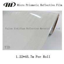 Película reflectante prismática micro