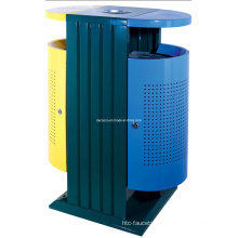 Metal Perforated Classified Recycable Outdoor Waste Bin (DL97)