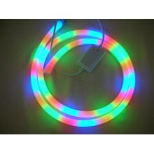 Éclairage au néon à LED flexible RVB