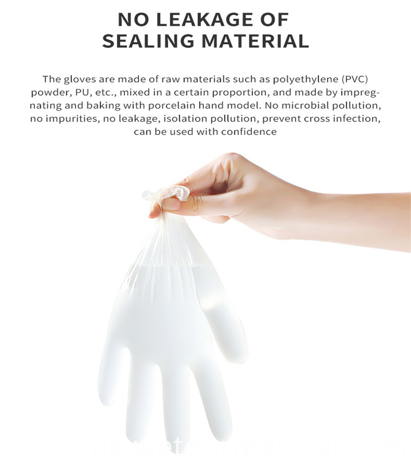 Safety Vinyl Medical Glove