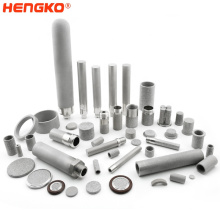 sintered mesh powder porous metal stainless steel microns pharmaceutical filter tube cartridge for filtration system