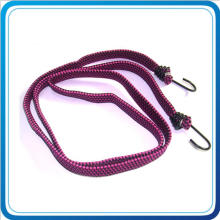 Make Own Size Elastic Bungee Cord with Double Metal Hook for Luggage Bag