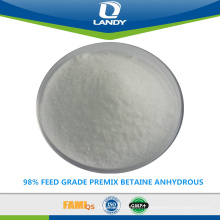 98% PRÉ-ALIMENTATION BETAINE ANHYDRE
