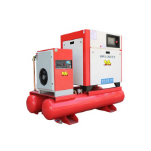 11KW 15HP Hot Selling Portable Industrial 4-in-one Integrated 16 bar Frequency Conversion Fiber Laser Screw Air Compressor