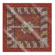 Custom made bandana fabric,wholesale bandana prints fabric in Paisley fashion design