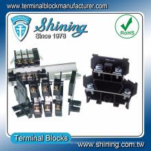 TD-025 600V 25 Amp Schiene Typ Lautsprecher Doppelschicht Kabelstecker