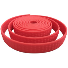 Fashional Embossed Patterned Water-Resistant Polyester 1 inch Belt Webbing