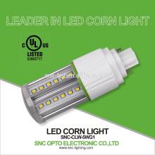SNC conduziu as luzes 5w G24d do furo do milho, luz de bulbo da espiga de milho da base de G24q / luz milho da lâmpada 5w