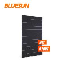 Bluesun 500w solar panel monocrystallin Solar Cell 570w HIT shingled panels solar price For House Use For Middle East Market