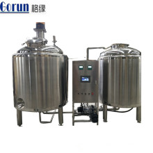Stainless Steel Mixing Tank For Cosmetic,Ice Cream,Shampoo