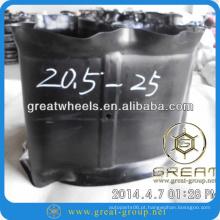 20.5-25 pneu mat e pneu do tubo interno