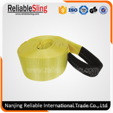 """4"""" Polyester Snatch Strap with Reinforced Loops"""