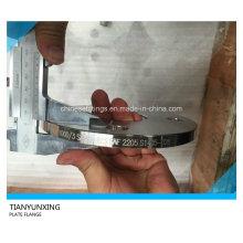 Aço Inoxidável Sans1123 África do Sul Placa Padrão Flange de Aço