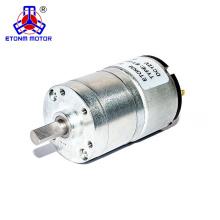 32mm 500rpm 24v engranaje motor de corriente continua para dispensador de jabón