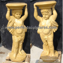 Stone Granite Marble Base for Garden Decoration (BA057AB)