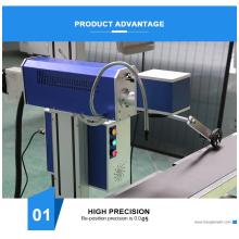 Машина для лазерной печати пластиковых труб из ПВХ HDPE