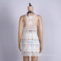 Sexy White Lace Beach Dress Summer Cover Up