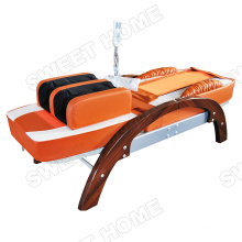 Wholesale Automatic Air Acupressure Infrared Jade Hot Stone Electric Massage Bed