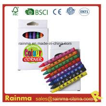 8PCS Color Crayon in Paper Box