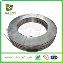 Cr25ni20 Прокладка 0,4 мм*40мм для резисторов (сталь AISI 310s, д)