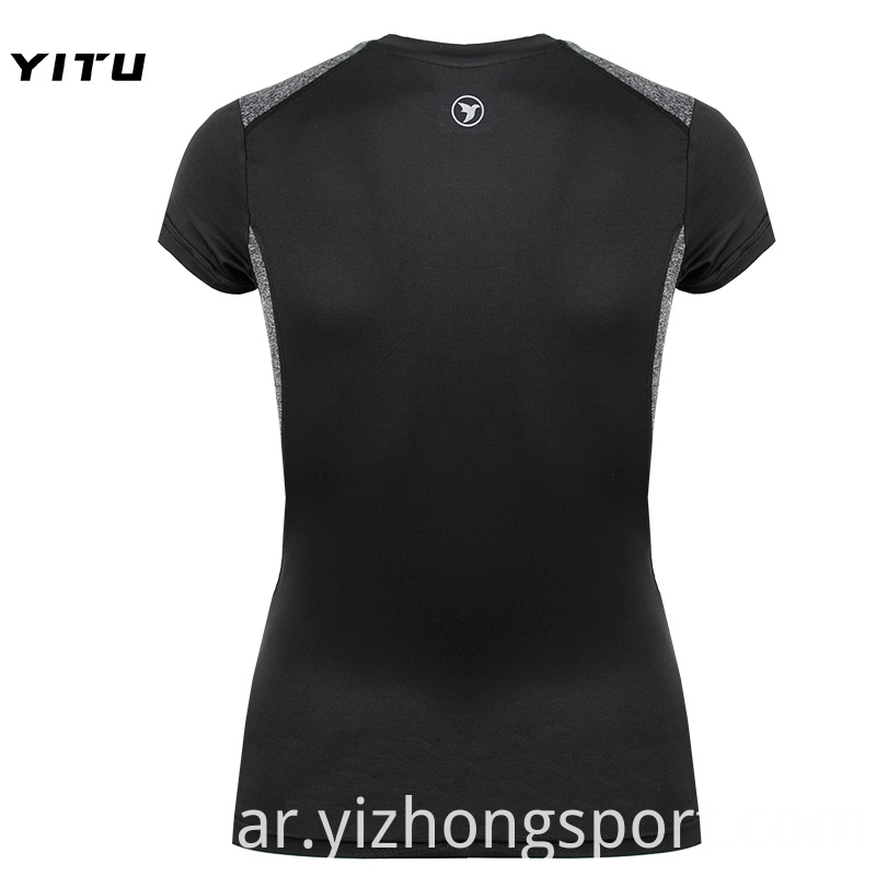 Fitness Womens T Shirt Jogging