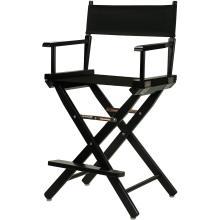 "Silla de director de 24 ""artista de maquillaje de madera maciza gran silla"