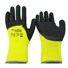 Factory 10 Gauge Polyester Brushed Napping Warm Winter Work Gloves For Outdoor Winter