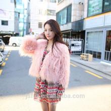 Nouveau style Custom Cheap Sheep Shearing Fur Women Manteau d'hiver