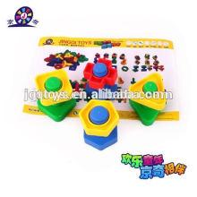 Juguetes de plástico para tornillos y tuercas
