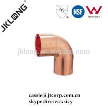Cobre de cobre de cobre de 90 grados codo de la calle F * C