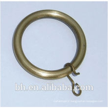 antique bronze split key curtain rings
