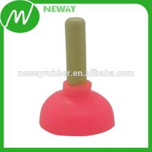 Varios colores Toliet diseño de la tapa del teléfono del silicón del diseño