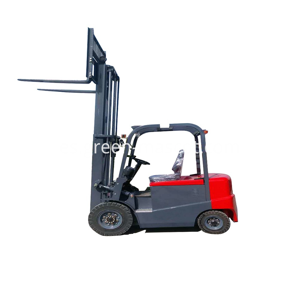 4 Wheels Forklift