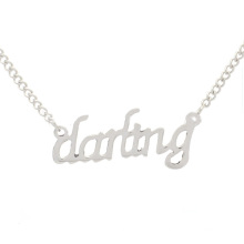 Top selling Darling images of silver necklaces, jewelry necklaces injector for women