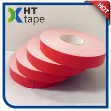 Double Sided PE Foam Tape with Red Paper